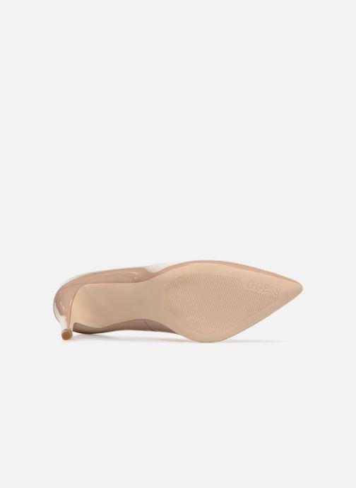 Zapatos de tacón Guess BENNIE8 Beige vista de arriba