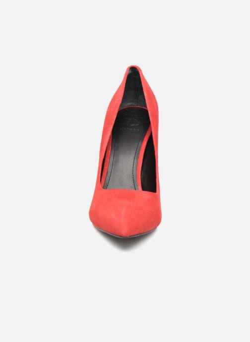 Escarpins Guess OBELLA Rouge vue portées chaussures