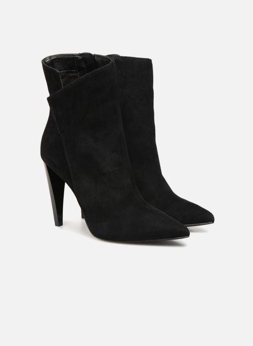 Bottines et boots Guess OPALL Noir vue 3/4