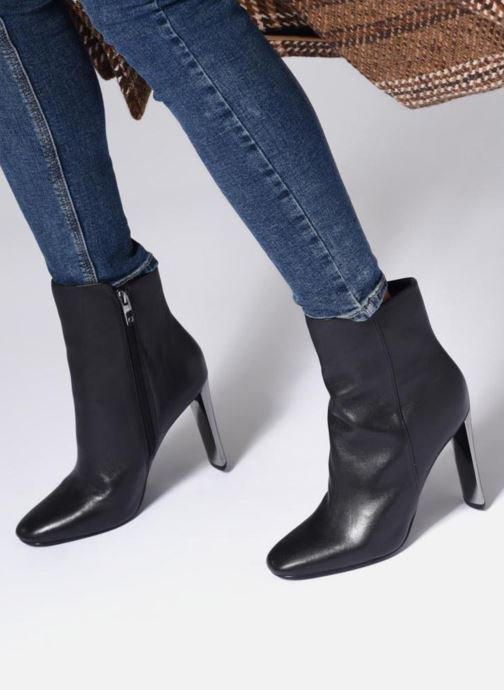 Boots en enkellaarsjes Guess KITTY Zwart onder