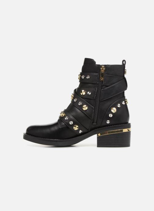 Boots en enkellaarsjes Guess FANCEY Zwart voorkant