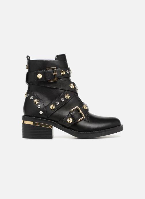 Boots en enkellaarsjes Guess FANCEY Zwart achterkant