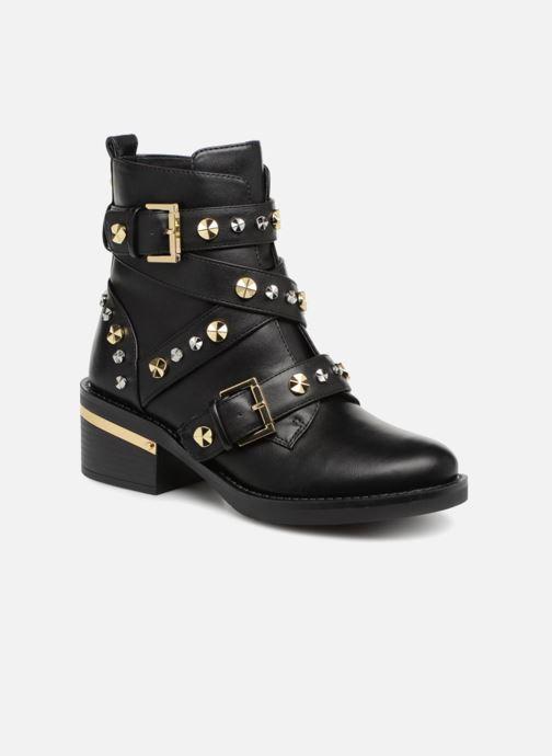 Boots en enkellaarsjes Guess FANCEY Zwart detail