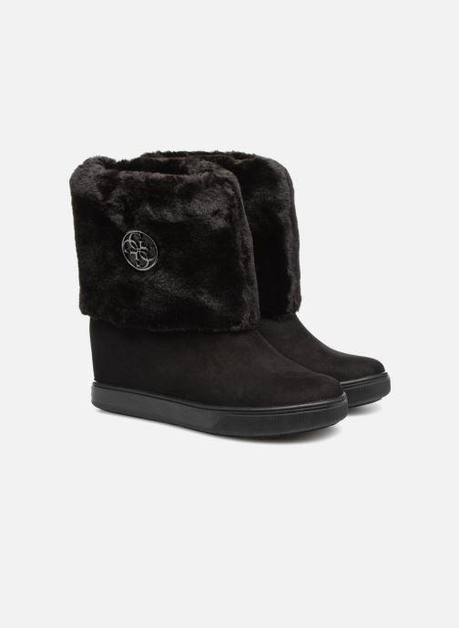 Bottines et boots Guess FAMOUZ Noir vue 3/4