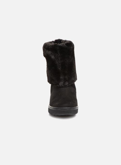 Bottines et boots Guess FAMOUZ Noir vue portées chaussures