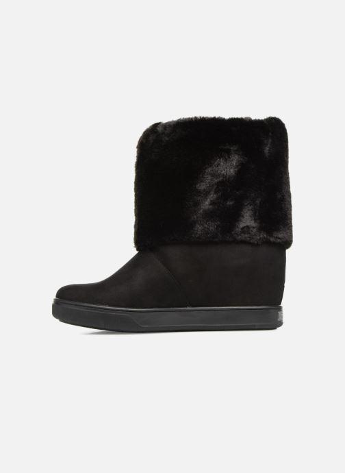 Boots en enkellaarsjes Guess FAMOUZ Zwart voorkant