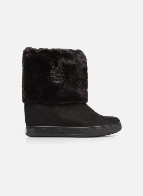 Boots en enkellaarsjes Guess FAMOUZ Zwart achterkant
