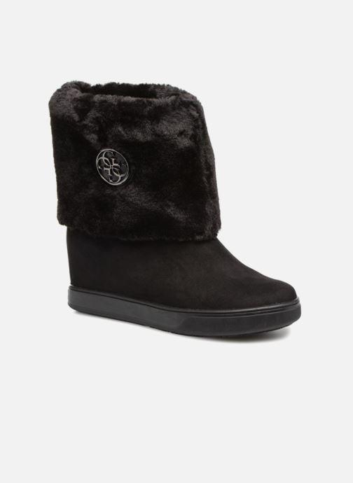 Bottines et boots Guess FAMOUZ Noir vue détail/paire