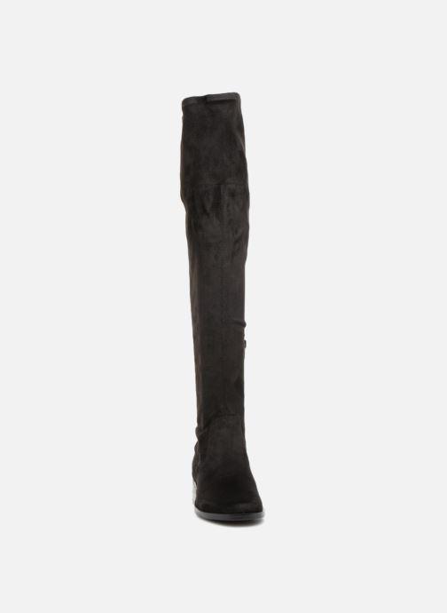 Bottes Guess PRISCILL2 Noir vue portées chaussures