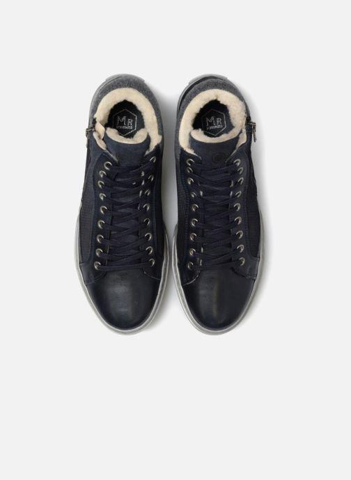 Baskets Mr SARENZA Wayatt Bleu vue portées chaussures