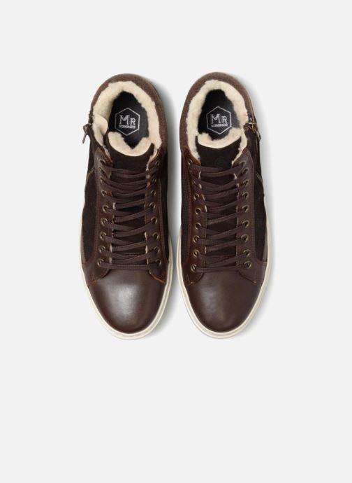 Baskets Mr SARENZA Wayatt Marron vue portées chaussures