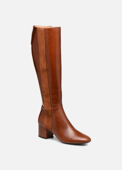 Girl Bottes1 Lisse By Sarenza Cuir Made Toundra Camel Ygb7f6y