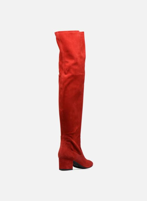Boots & wellies Made by SARENZA Toundra girl Bottes #3 Red front view