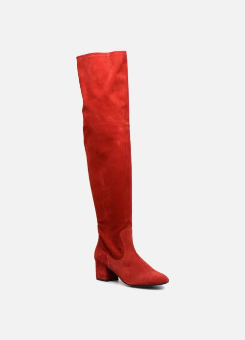 Made By Sarenza Toundra Girl Bottes #3 (rouge) - Rouge (cuir Velours Rouge) nuSouu7h