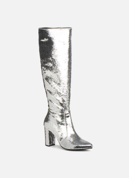 Stiefel Made by SARENZA 80's Disco Girl Bottes #3 silber ansicht von rechts