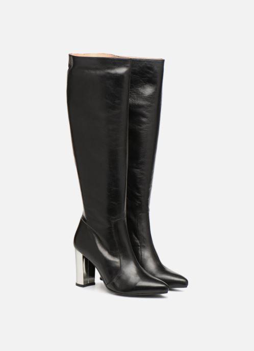 Stiefel Made by SARENZA 80's Disco Girl Bottes #3 schwarz ansicht von hinten