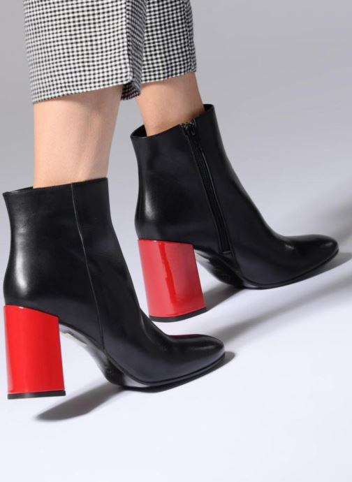 Stivaletti e tronchetti Made by SARENZA Pastel Affair Boots #1 Nero immagine dal basso