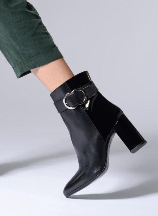 Stiefeletten & Boots Made by SARENZA Busy Girl Bottines à Talons #6 schwarz ansicht von unten / tasche getragen