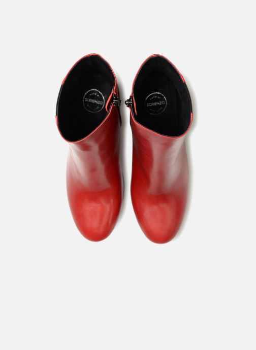 Stivaletti e tronchetti Made by SARENZA Busy Girl Bottines à Talons #8 Rosso modello indossato