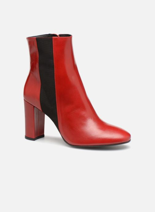 Ankle boots Made by SARENZA Busy Girl Bottines à Talons #8 Red view from the right