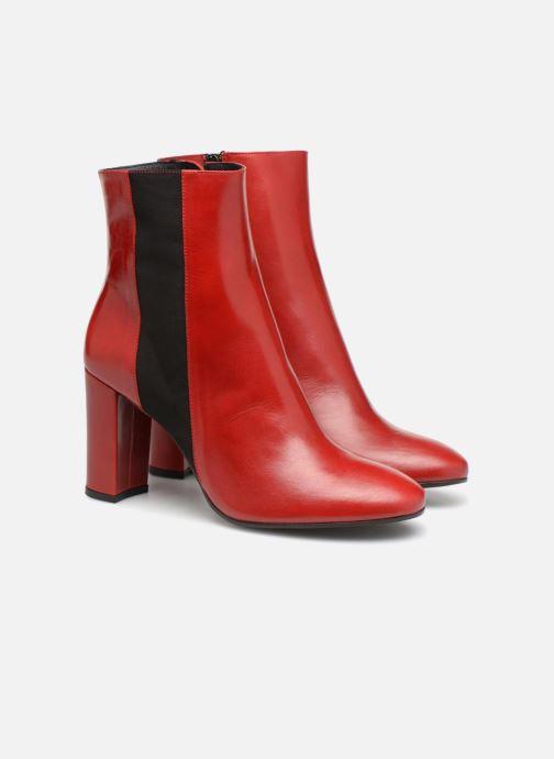 Boots en enkellaarsjes Made by SARENZA Busy Girl Bottines à Talons #8 Rood achterkant
