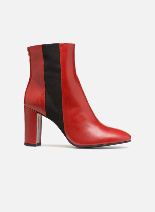 Ankle boots Made by SARENZA Busy Girl Bottines à Talons #8 Red detailed view/ Pair view