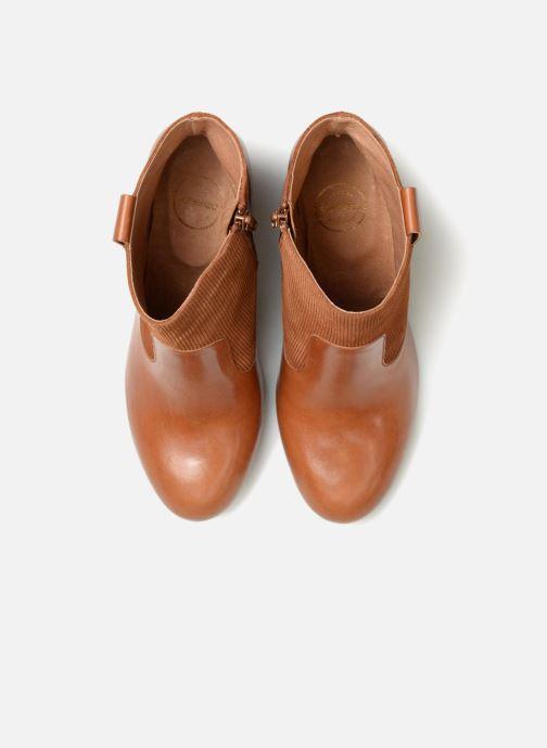 Stiefeletten & Boots Made by SARENZA Toundra Girl Bottines à Talons #2 braun schuhe getragen