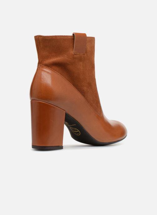 Stiefeletten & Boots Made by SARENZA Toundra Girl Bottines à Talons #2 braun ansicht von vorne