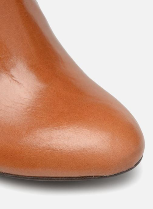 Stiefeletten & Boots Made by SARENZA Toundra Girl Bottines à Talons #2 braun ansicht von links