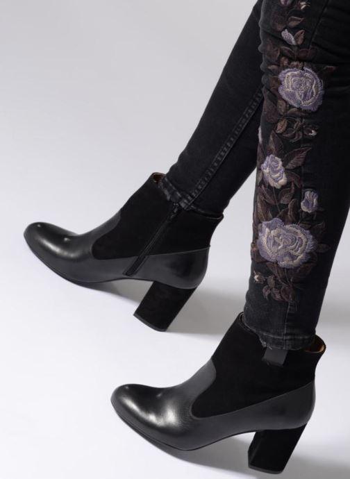 Stiefeletten & Boots Made by SARENZA Toundra Girl Bottines à Talons #2 schwarz ansicht von unten / tasche getragen