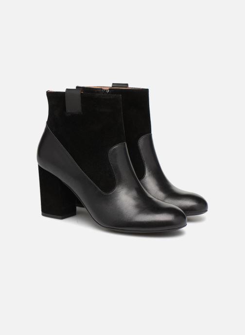 Stiefeletten & Boots Made by SARENZA Toundra Girl Bottines à Talons #2 schwarz ansicht von hinten