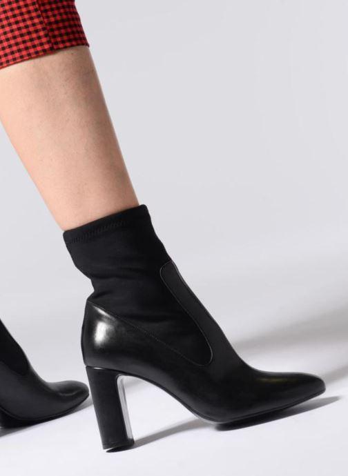 Stiefeletten & Boots Made by SARENZA Busy Girl Bottines à Talons #9 schwarz ansicht von unten / tasche getragen