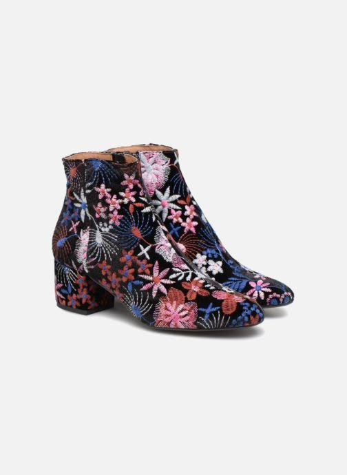 Boots en enkellaarsjes Made by SARENZA Toundra Girl Bottines à Talons #8 Multicolor achterkant