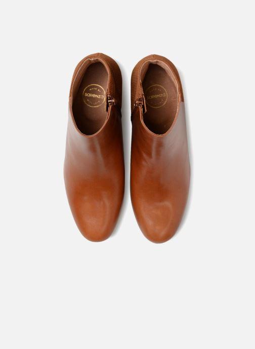 Bottines et boots Made by SARENZA Toundra Girl Bottines à Talons #8 Marron vue portées chaussures
