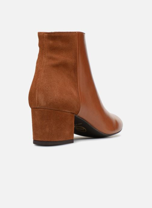 Bottines et boots Made by SARENZA Toundra Girl Bottines à Talons #8 Marron vue face
