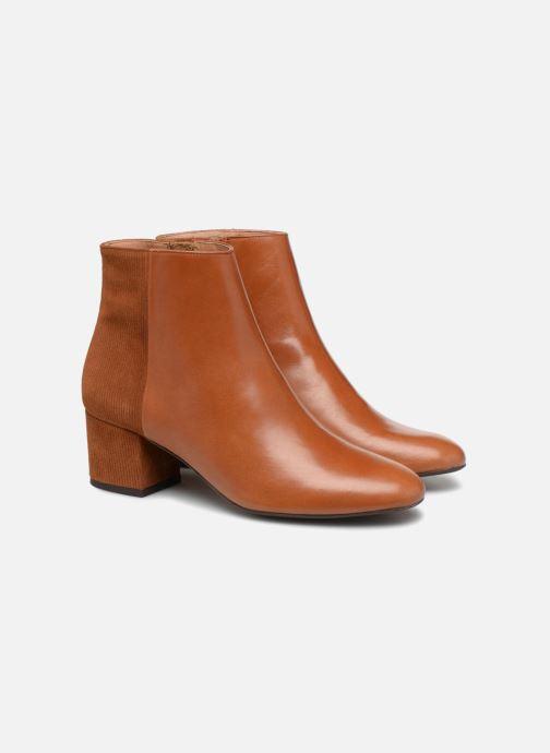 Bottines et boots Made by SARENZA Toundra Girl Bottines à Talons #8 Marron vue derrière