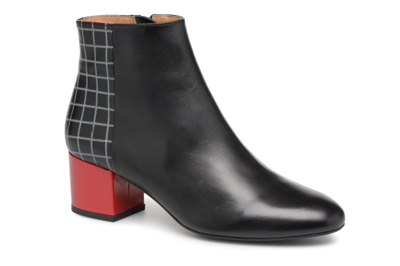 Bottines et boots Made by SARENZA Toundra Girl Bottines à Talons #8 Noir vue droite