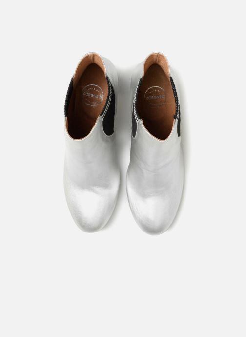 Bottines et boots Made by SARENZA 80's Disco Girl Bottines à Talons #6 Argent vue portées chaussures