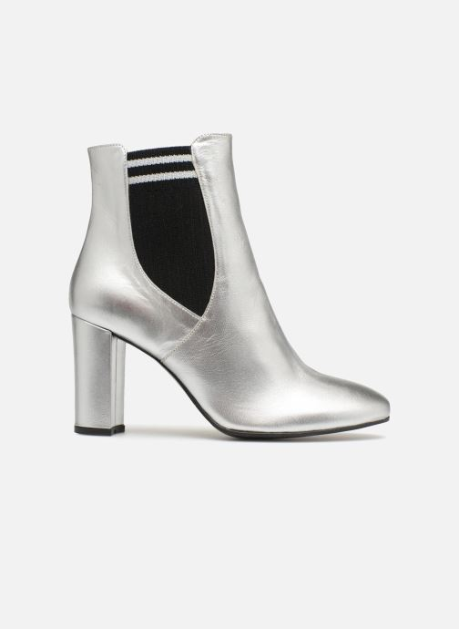 Ankle boots Made by SARENZA 80's Disco Girl Bottines à Talons #6 Silver detailed view/ Pair view