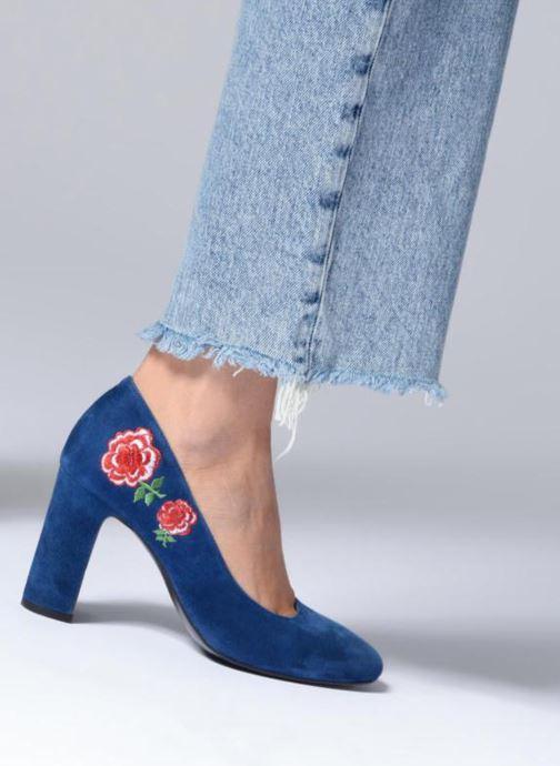 Zapatos de tacón Made by SARENZA UrbAfrican Escarpins #3 Azul vista de abajo