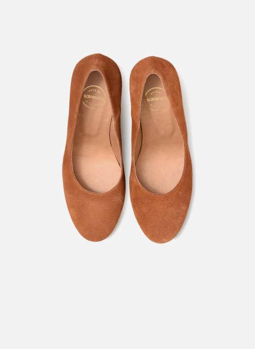 Escarpins Made by SARENZA UrbAfrican Escarpins #3 Marron vue portées chaussures