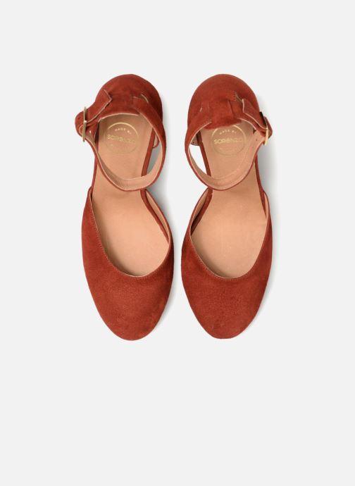 Escarpins Made by SARENZA Toundra Girl Escarpins #4 Marron vue portées chaussures