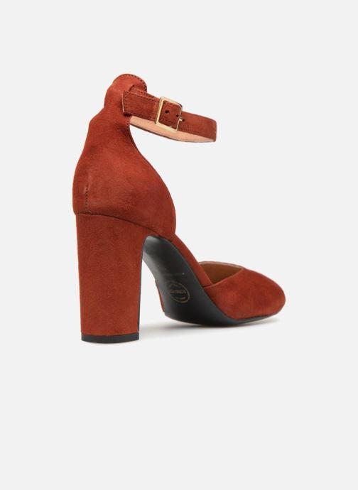 Zapatos de tacón Made by SARENZA Toundra Girl Escarpins #4 Marrón vista de frente