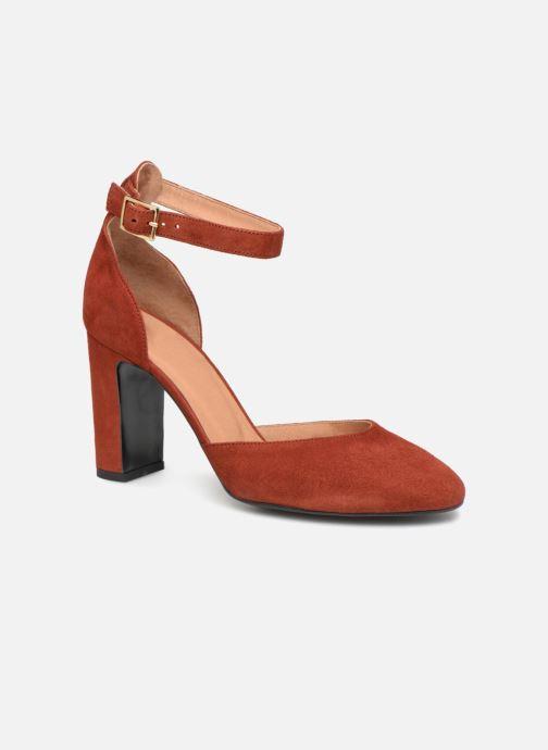 Zapatos de tacón Made by SARENZA Toundra Girl Escarpins #4 Marrón vista lateral derecha