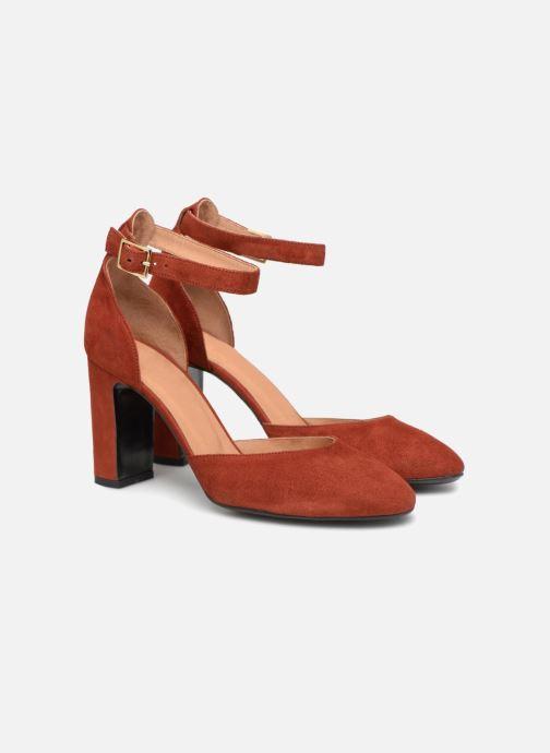 Zapatos de tacón Made by SARENZA Toundra Girl Escarpins #4 Marrón vistra trasera