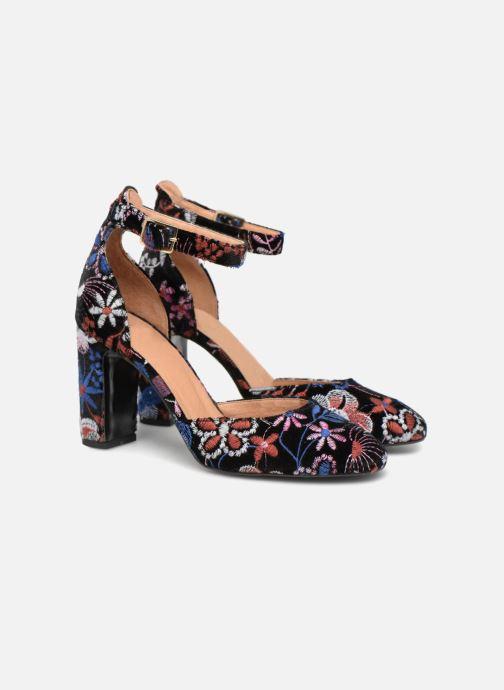 High heels Made by SARENZA Toundra Girl Escarpins #4 Multicolor back view