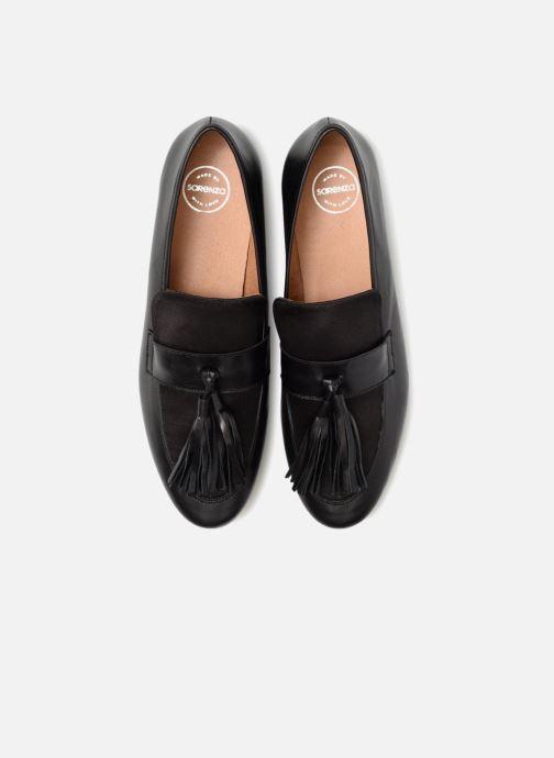 Slipper Made by SARENZA Toundra Girl Mocassin #1 schwarz schuhe getragen