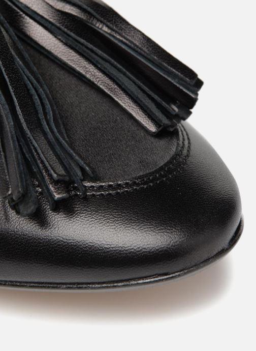 Slipper Made by SARENZA Toundra Girl Mocassin #1 schwarz ansicht von links