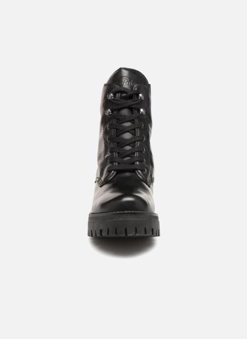Buffalo Black Et Shadow Boots Bottines TZXiuOPk