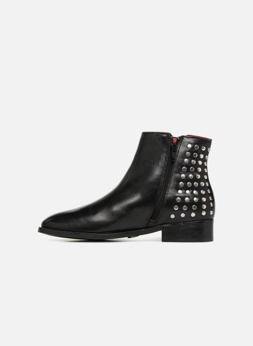 Ankle boots Buffalo MING Black front view
